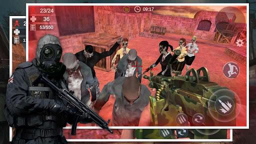 Zombie Survival Shooter: 3D FPS Kill Hunting War  screenshots 12