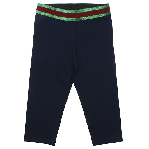 Primary image of Gucci Navy Web Leggings