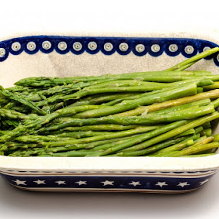 Slow Cooked Asparagus.