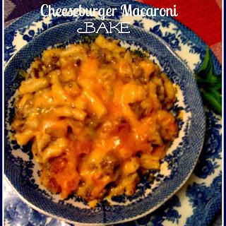Cheeseburger Macaroni Bake!.