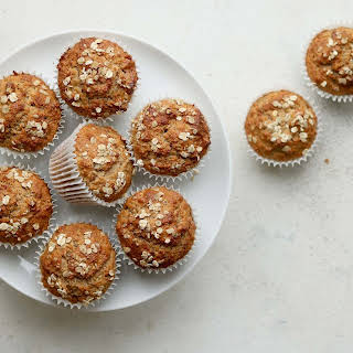 Whole Wheat Banana Muffins.
