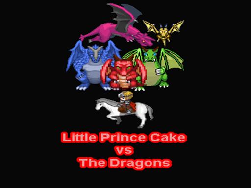 Little Prince Cake vs Dragons