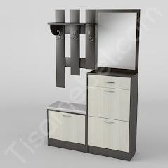 Прихожая-5 мебель разработана и произведена Фабрикой Тиса мебель