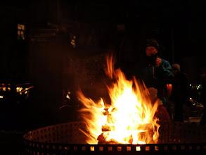 Photo: Glühwein am Feuerkorb