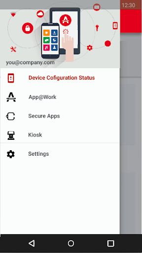 Mobile@Work 5.7.0.2.13R screenshots 2