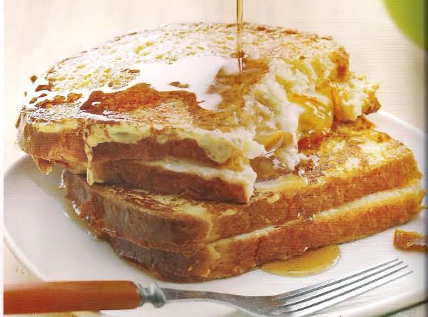Cheese And Marmalade French Toast Sandwiches Recipe
