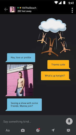 Grindr - Gay chat screenshot