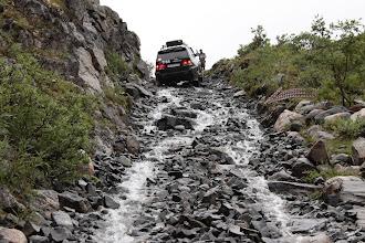 Photo: Дорога назад как будто по горной реке.