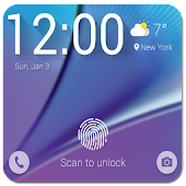 Fingerprint Prank Lock Note 5