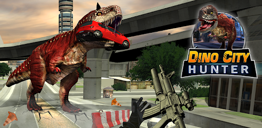 T-Rex Dinosaur City Hunter: Rocket Launcher Game for PC