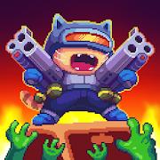 Cat Gunner: Super Zombie Shooter Pixel [Mega Mod] APK Free Download