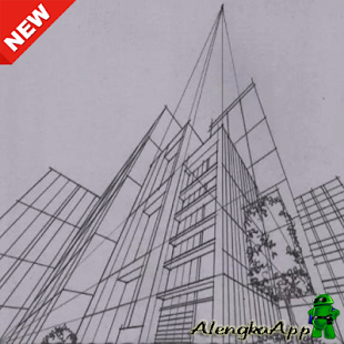 Learn to Draw Building Sketches - náhled