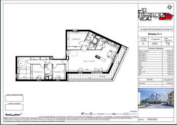 Appartement 5 pièces 119,2 m2