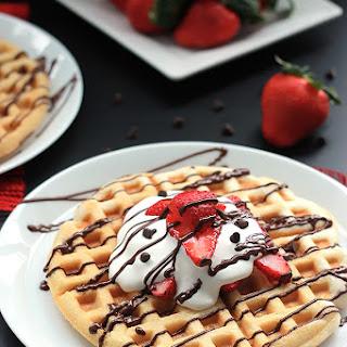 Strawberry Waffle Cakes