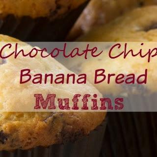 Chocolate Chip Banana Bread Muffins.