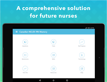 Canadian NCLEX RN Mastery- screenshot thumbnail