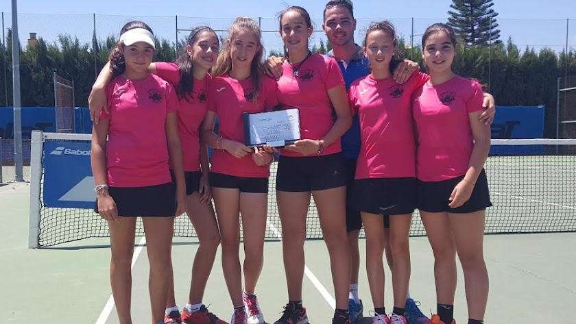 Club de Tenis Albox infantil femenino.