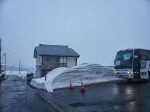 Photo: やはり積雪がすごい