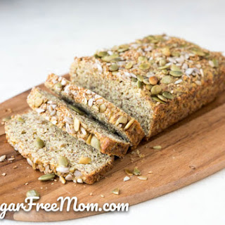 Low-Carb Flax Meal Bread.