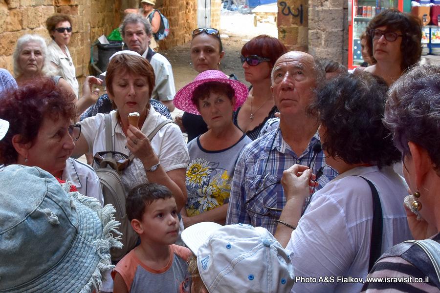 ЭЭкскурсия в Акко. Гид в Израиле Светлана Фиалкова.