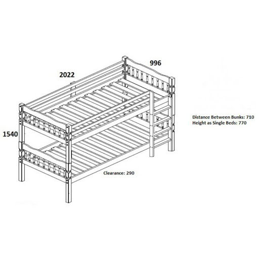 Birlea Weston Bunk Bed