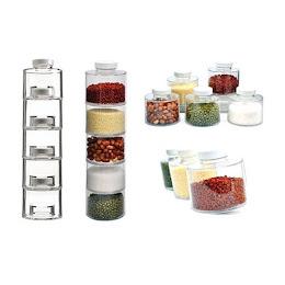 Carusel condimente cu 12 recipiente Spice Tower