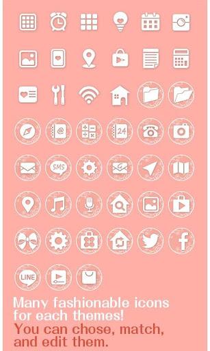 icon & wallpaper-Pink Roses- 1.0.0 Windows u7528 4