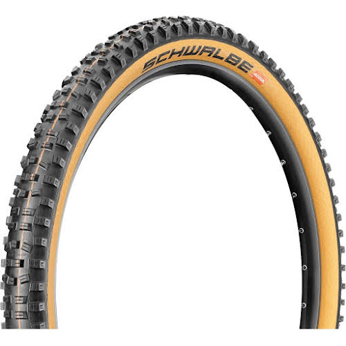 Schwalbe Hans Dampf Tire - 29 x 2.35, Black/Tan Addix Soft