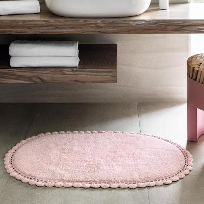 Коврик для ванной Togas Дорис розовое 60x90