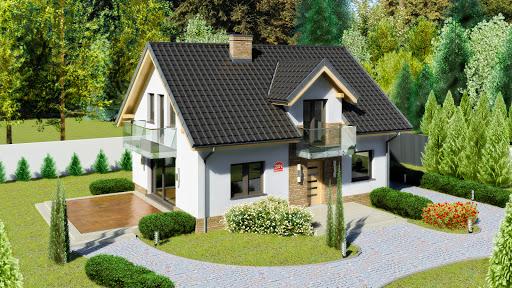 projekt Dom przy Alabastrowej 20 N