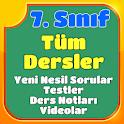 7.Sınıf Tüm Dersler Konu Anlatımı Testler Videolar icon