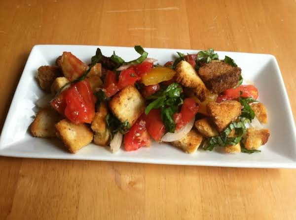Italian Bread Salad (panzanella) Recipe