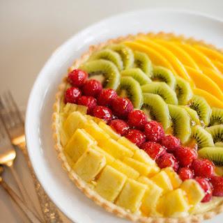 Tropical Fruit Tart