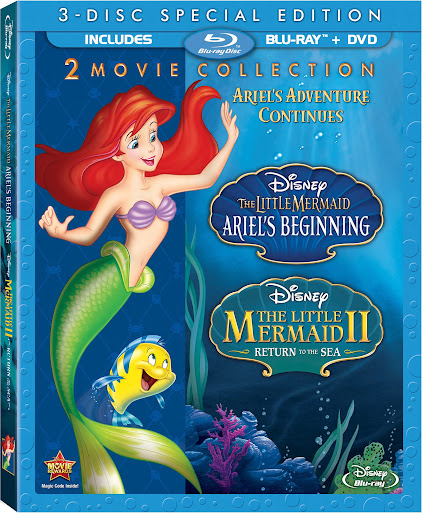 The Little Mermaid: Ariel's Beginning and The Little Mermaid 2: Return to the Sea 2-Movie Collection
