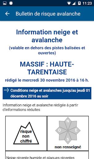 Mu00e9tu00e9o-France Ski et Neige 3.0.5 screenshots 5
