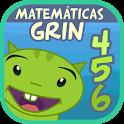 Matemáticas con Grin I 4,5,6 años primeros números icon