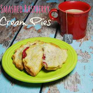 Smashed Berry Cream Cheese Hand Pies with Truvia®