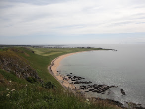 Photo: Dropping to Earlsferry beach (Elie in the Background)