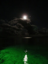 Photo: Beautiful full moon- Mad River Outfitters at the Andros Island Bonefish Club
