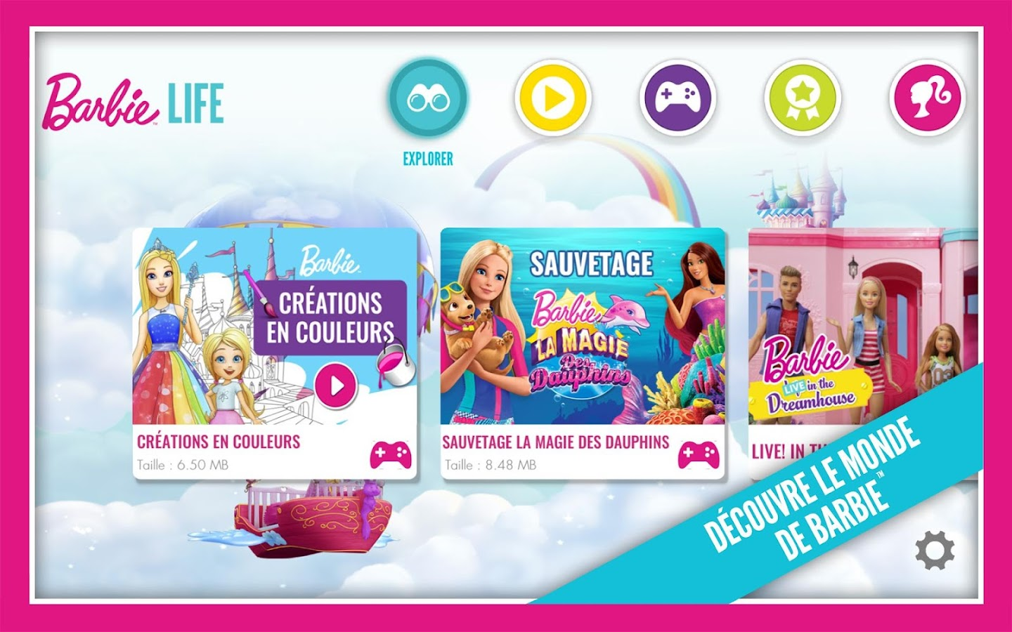 Barbie life applications android sur google play - Google jeux barbie ...