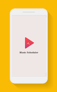 Music Scheduler - náhled