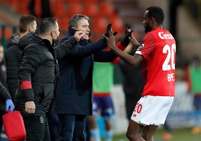 """Les joueurs du Standard sont toujours derrière Montanier : """"Nous avons décidé d'aller vers lui pour faire passer un message"""""""