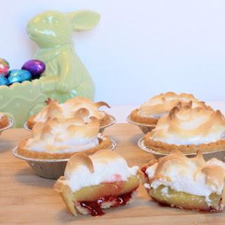 Raspberry Lemon Meringue Tarts -Easy and Quick!.