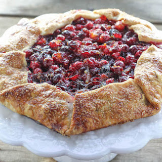 Cranberry Orange Galette