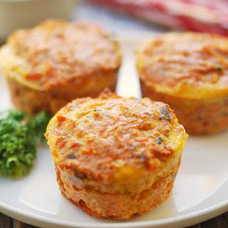 Healthy Salmon Muffins
