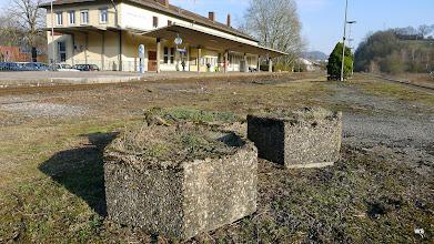 Photo: Grube/Fricke/Kefer: Bahnhof Schwäbisch Hall / Landschaftsarchitektur