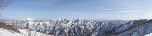 横山岳からのパノラマ