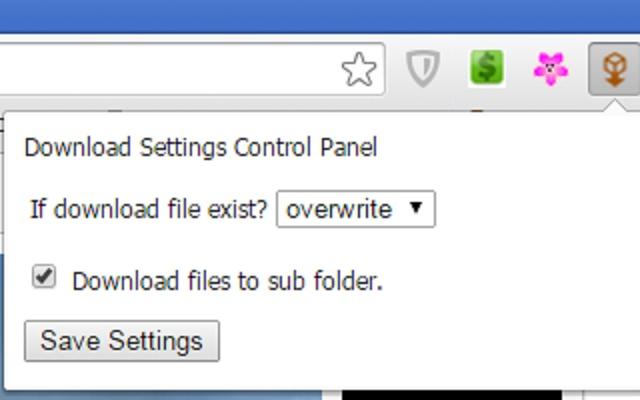 GS Downloads Settings