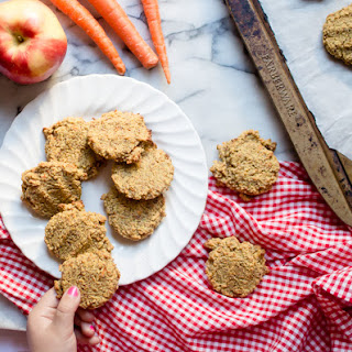 Grain-Free Carrot Apple Breakfast Cookies.