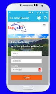 Online Bus Ticket Booking All In One - náhled